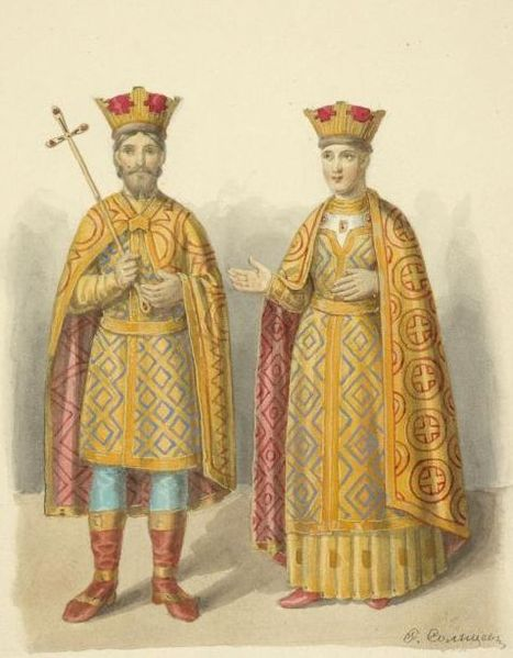 467px-Vasily I of Moscow and Sophia of Lithuania