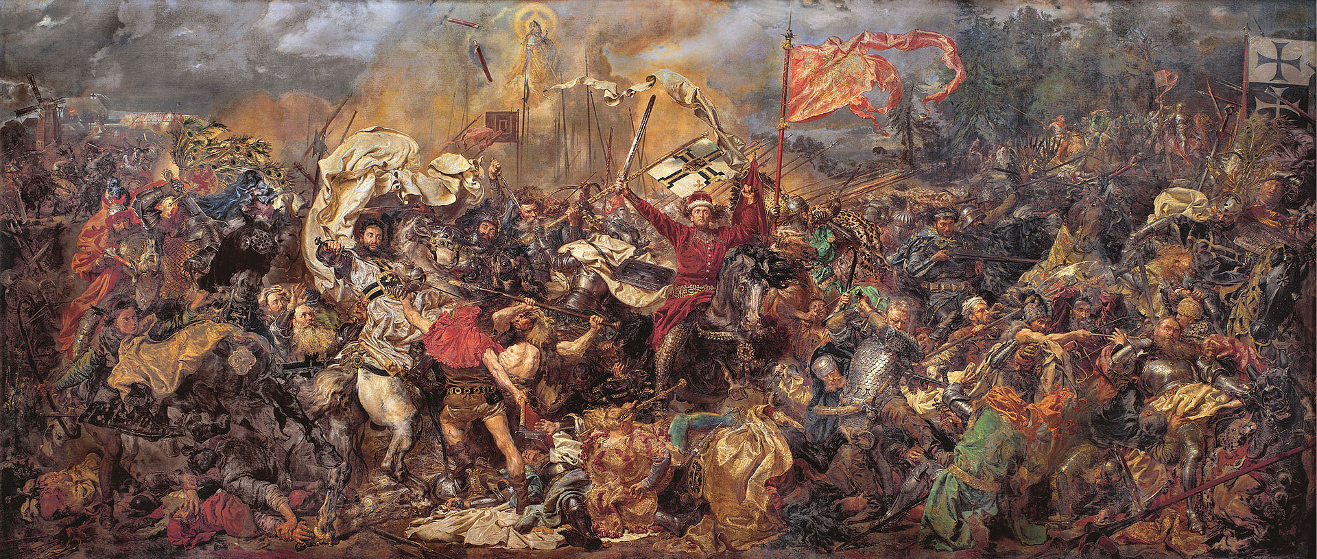 Matejko Battle of Grunwald